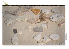 Carry-all Pouch featuring the photograph Beach Treasures 2 by Melissa Lane