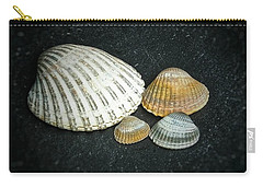 Carry-all Pouch featuring the photograph Beach Treasures  by Karen Stahlros