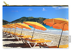 Beach Umbrellas Carry-all Pouch