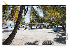 Beach Volleyball Court Carry-all Pouch