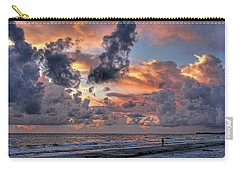 Beach Walk - Florida Seascape Carry-all Pouch