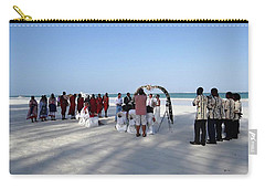Beach Wedding In Kenya Carry-all Pouch