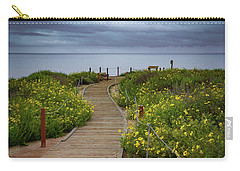Beach Wildflowers Carry-all Pouch