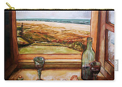 Beach Window Carry-all Pouch by Winsome Gunning