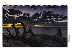 Beach Wood Carry-all Pouch
