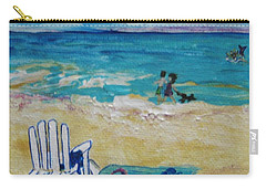 Beach8 Carry-all Pouch by Diana Bursztein