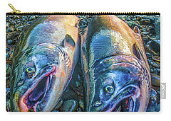 Beached Coho Carry-all Pouch