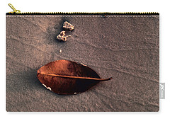 Beached Leaf Carry-all Pouch by Brent L Ander