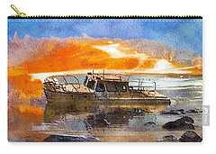 Beached Wreck Carry-all Pouch