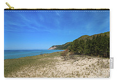 Carry-all Pouch featuring the photograph Beaches And Bluffs by Rachel Cohen