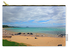 Carry-all Pouch featuring the photograph Beaches Of Hawaii by Michael Rucker