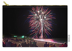 Carry-all Pouch featuring the photograph Beachside Spectacular by Bill Pevlor