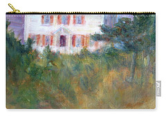 Beacon On The Hill - Lighthouse Painting Carry-all Pouch