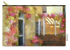 Carry-all Pouch featuring the digital art Beallair In Bloom by Lois Bryan