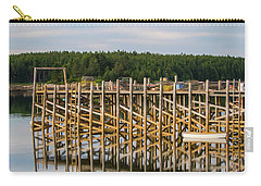 Carry-all Pouch featuring the photograph Beals Island, Maine  by Trace Kittrell