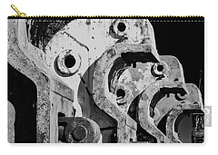 Carry-all Pouch featuring the photograph Beam Bender - Bw by Werner Padarin