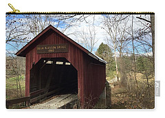 Bean Blossom Bridge, 1880 Carry-all Pouch