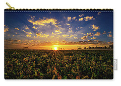 Bean Field Dawn Carry-all Pouch