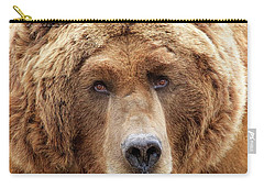 Bear Face Carry-all Pouch by Steve McKinzie