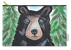 Bear In The Woods Carry-all Pouch