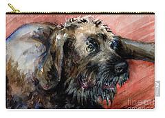 Bear Carry-all Pouch by Lora Serra