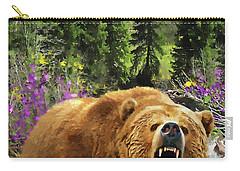 Bear Necessities Iv Carry-all Pouch