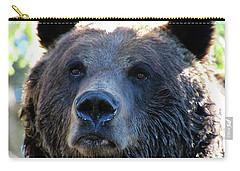 Bear On Grouse Carry-all Pouch