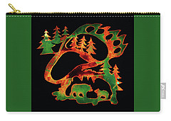 Irish Bears Carry-all Pouch