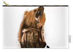 Bear Spirit  Carry-all Pouch by Sassan Filsoof