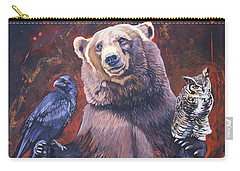 Bear The Arbitrator Carry-all Pouch
