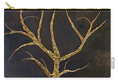 Carry-all Pouch featuring the painting Bear Tree by John Stuart Webbstock