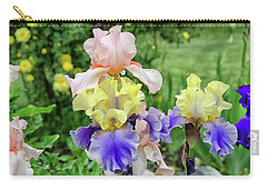 Bearded Iris Edith Wolford  Carry-all Pouch