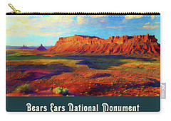 Bears Ears National Monument Carry-all Pouch