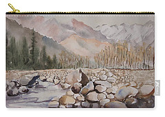 Beas River Manali Carry-all Pouch