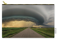 Carry-all Pouch featuring the photograph Beast by Aaron J Groen