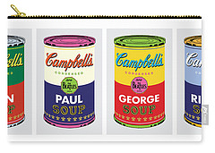 Beatle Soup Cans Carry-all Pouch
