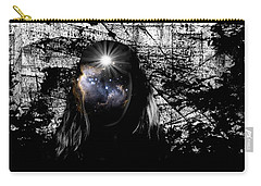 Beauties Are Things That Are Lit Inside Us Carry-all Pouch by Paulo Zerbato