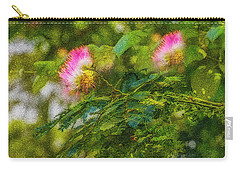 Beauties Of The Garden Carry-all Pouch