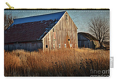 Beautiful Barn In Autumn  Carry-all Pouch