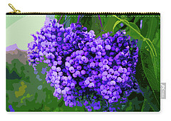 Beautiful Berries By Lisa Kaiser Carry-all Pouch