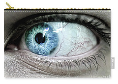Beautiful Blue Eye Carry-all Pouch