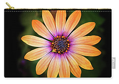 Beautiful Blue Eyed Daisy Carry-all Pouch