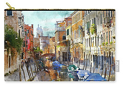 Beautiful Boats In Venice, Italy Carry-all Pouch