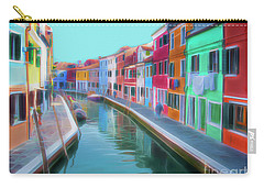 Beautiful Burano Venice Italy Carry-all Pouch