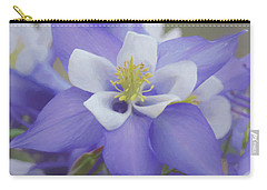 Beautiful Columbines Carry-all Pouch by Ernie Echols