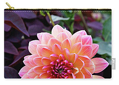 Beautiful Dahlia Carry-all Pouch