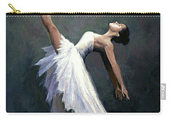 Carry-all Pouch featuring the painting Beautiful Dancer by Janet King