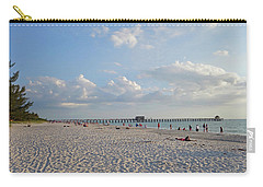 Beautiful Day On Naples Beach Naples Florida Carry-all Pouch