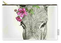 Beautiful Donkey Carry-all Pouch