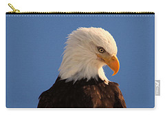 Carry-all Pouch featuring the photograph Beautiful Eagle by Jeff Swan